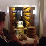 Cheese storeroom with 10 tons of cheese!