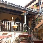 entrance to el Barracon