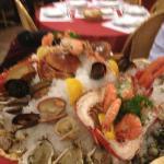 Le plateau de fruits de mer pour deux