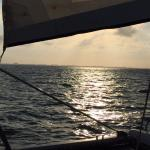 Sailing Home into the Sunset!