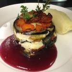 VEGETARIAN ROASTED VEGETABLE GATEAUX