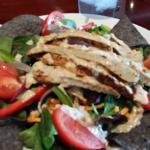 Crispy Chickun Salad