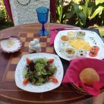 Breakfast platter, yummy! :)