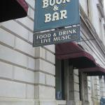 Portsmouth Book & Bar in old Custom House, P'mouth NH