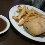 Philly Swiss Steak meal, Denny's  |  5011 25 Avenue NW, Edmonton, Alberta T6L 7A7, Canada