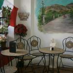 Our Italian coffee shop area