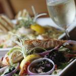 Fresh Salmon on a Salad!