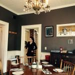 One of the multiple dining rooms