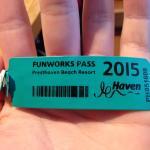 funwork passes (wristbands)