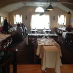 Really nice upstairs dining area.