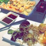 Plat ( nouilles, wok asiatique, plancha)