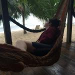 Chilling in the Sea Chalet hammock