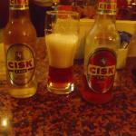 Local bottled beer