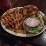 Fitz's Spare Key's Burger and Fries