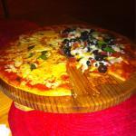 Pizza pazza y Margarita deliciosa