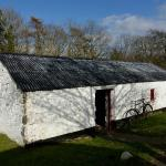 One of the dozens of farm house buildings.