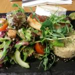 The goats cheese salad