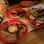 Appetizer - Tiger prawns, lamb and other delicious dishes