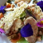 Salade Caesar façon La Verniaz