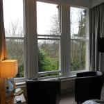 Beautiful bay window to rest and gaze from