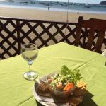 Ceviche & white wine lunch