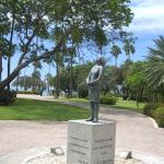 Denkmal von Anne Frank im Wilhelmina-Park
