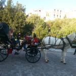 Horse trip around plaka... not to be missed.