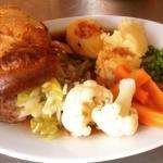 Sunday roast at Penny Farthing.............