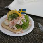 crabs with a swedish touch - yummy