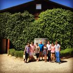 Brander Vineyard in Los Olivos. Nice way to start out the Day!