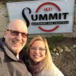 Outside the Summit Restaurant on Easter