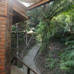Eingangsbereich Holzhütte