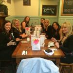 Hen do at the blue rooms