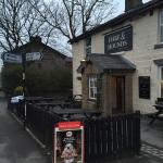 Dogs Welcome and catered for at The Hare & Hounds, with Heights Farm Dog menu of Chicken & Rice,