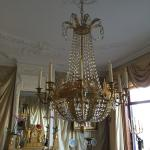 One of the 3 chandeliers