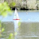 Le lac Mouriscot en face de l' Auberge