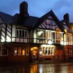 The Saddle Inn at night