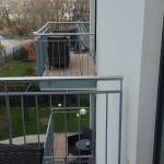 Balkon zum Wasser