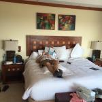 Maste suite - king bed