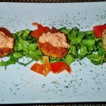 the fish cakes appetizer