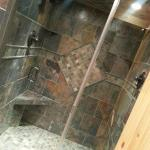 Great double shower
