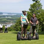 Try the Segways at Chestnut Mountain Resort