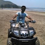 Sand bike and water sports at karde beach