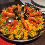 Paella voor 4 personen