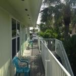 Deck looking toward Estero Blvd and Gulf
