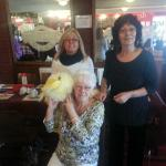 Mum with Sheila, Marcia and the Furry Duck!!!!