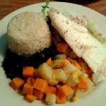 Casada with plain fish