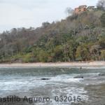 Playa blanca donde se puede descansar