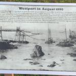 Westport History Headlands across from Wesport Hotel.