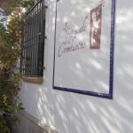 cartel de la fachada